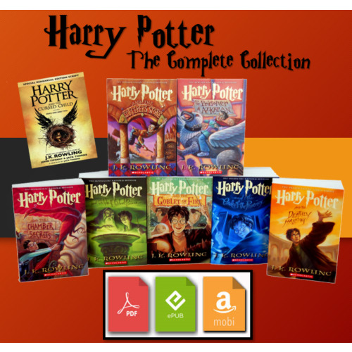 The Harry Potter Complete E BOOK Collection 📚 + BONUS 🎁 - Fast Delivery ⚡