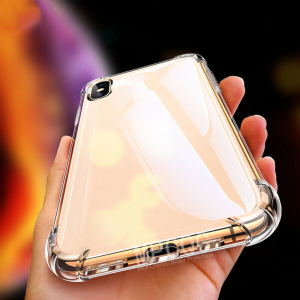 Soft Silicone TPU Shockproof Phone Case For Iphone Transparent Back Cover ~*