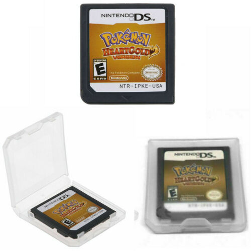 Pokemon: Heartgold Version Nintendo DS Game Card Cartridge For 3DS NDSI NDS NDSL