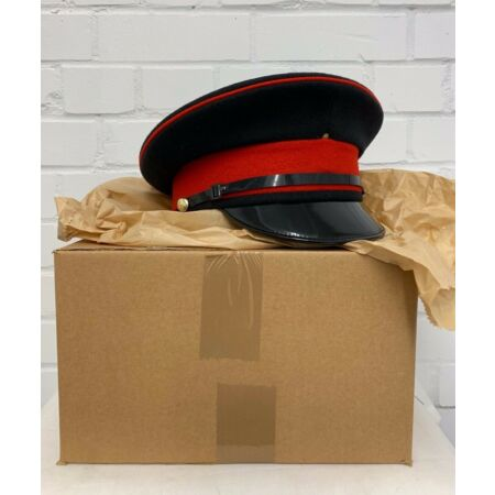 img-MEN'S ROYALS REME DRESS PEAKED CAP - Sizes , British Army Issue , NEW IN BOX