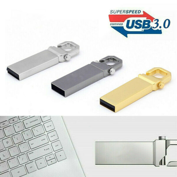 USB 3.0 32GB  FLASH DRIVE PENDRIVE PENNA CHIAVETTA MEMORIA DISK U PER LAPTOP