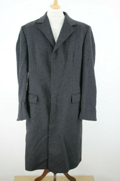 DEHAVILLAND Wool & Cashmere Overcoat size 40
