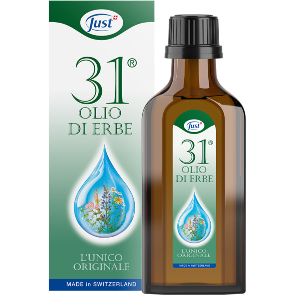 JUST OLIO 31® L'UNICO ORIGINALE CON 31 ERBE - 75 ML