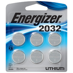 Kyпить Energizer 2032BP-6 Coin Cell Battery 6 Pack Exp.03/2030 на еВаy.соm