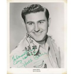 Kyпить Webb PIERCE / Inscribed Photograph Signed на еВаy.соm