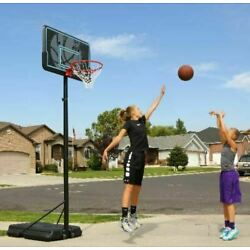 Kyпить Portable Basketball Hoop Goal Adjustable 44 Inch Pro Court Outdoor Sport Brand на еВаy.соm