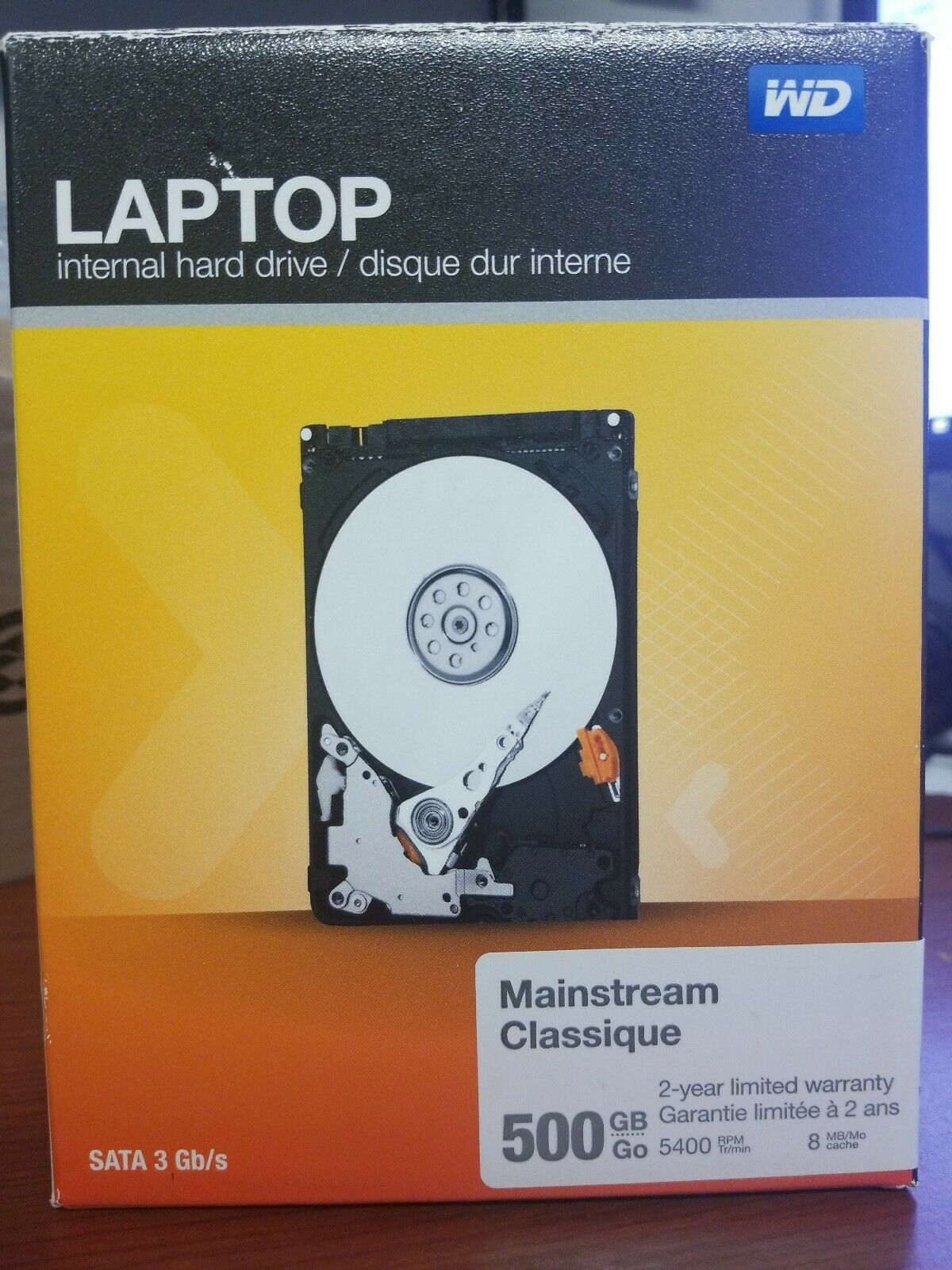 Mainstream 500GB Internal Serial ATA Hard Drive for Laptops OB WD