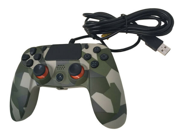TWO DOTS PadPro 4 Evo Wired Camo Controller PS4 Playstation 4 TWO DOTS