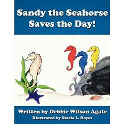 Sandy the Seahorse Saves the Day!, Agate, Wilson 9781434383839 Free Shipping,,