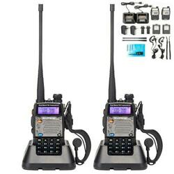 Kyпить 2 x Baofeng UV-5XP 8W Walkie Talkie UHF VHF FM Two Way Radio Scanner Transceiver на еВаy.соm