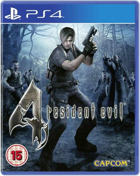 RESIDENT EVIL 4 Playstation 4 PS4 NUOVO