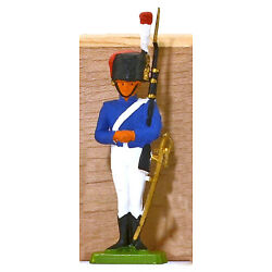 Cofalu Napoleonic French Grenadier - Painted Plastic Toy Soldier mint 1960s