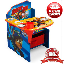 Kyпить Nick Jr. PAW Patrol Child Chair Desk Storage Bin Kids Toddler Children Furniture на еВаy.соm