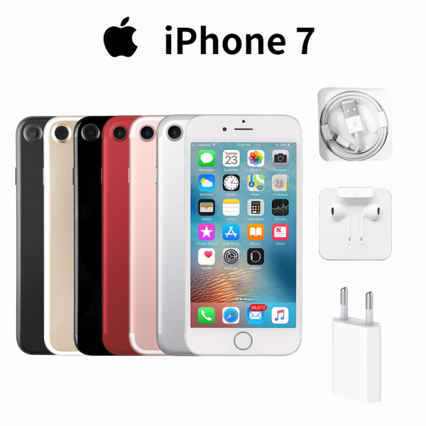 Nuovo Apple iPhone 7 32/128GB Gold Rose Black Silver Smartphone 24Mesi All Color