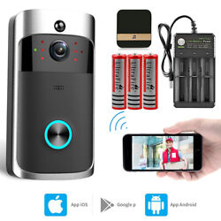 Kyпить Wireless WiFi Video Doorbell Smart Phone Door Ring Intercom Security Camera Bell на еВаy.соm