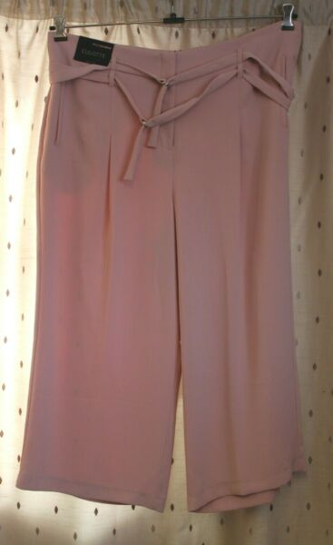 Next Tailoring ~ Pale Pink Culotte ~ Size 20R ~ NWT