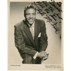 Kyпить Clyde McPHATTER / Inscribed Photograph Signed на еВаy.соm
