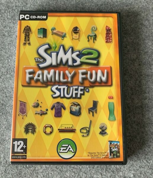 The Sims 2 Family Fun Stuff Expansion Pack (PC)