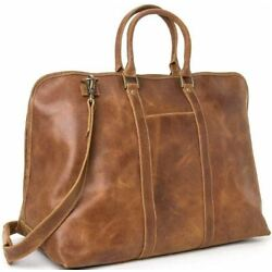 Kyпить Le Donne Leather Distressed Leather Getaway Duffel 2 Colors Colombia Leather NEW на еВаy.соm