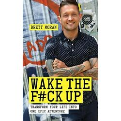 Wake the F**k Up by Moran  New 9781780288963 Fast Free Shipping..