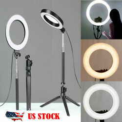 Kyпить 5500K LED Ring Light Dimmable Lamp Photography Camera Phone Video Studio Photo на еВаy.соm