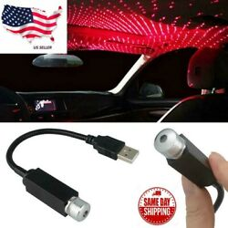 Kyпить USB Car Interior Atmosphere Starry Sky Lamp Ambient Star Light LED Projector US на еВаy.соm