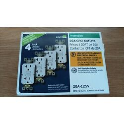 Kyпить 20 Amp 125-Volt Duplex Self-Test Slim GFCI Outlet, White (4-Pack) на еВаy.соm