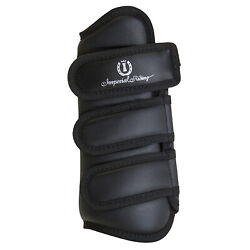 Imperial Riding Love Your Life Dresage Tendon Boots Unisex Horse Boot - Black