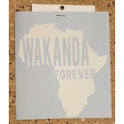 Awesome Handcrafted Marvel Wakanda Forever Vinyl Decal Indoor/Outdoor NEW 5''