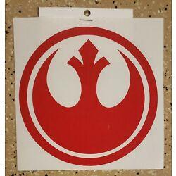 Awesome Handcrafted Star Wars Rebel Alliance Vinyl Decal Indoor/Outdoor NEW 5''