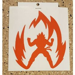 Awesome Handcrafted DBZ DragonBall Z Goku Vinyl Decal Indoor/Outdoor NEW 5''