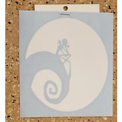 Awesome Handcrafted Nightmare Before Christmas Vinyl Decal Indoor/Outdoor NEW 5''