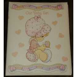 Kyпить GIRL Fill-In Keepsake Album Memory Scrap Book Precious Moments Baby Shower Gift на еВаy.соm