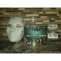 Kyпить Hollywood Undead Autographed Swan Songs and Mask на еВаy.соm