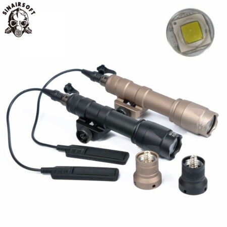 img-Tactical M600C Scout Light Flashlight LED Hunting Airsoft 400 Lumens Torch Lamp