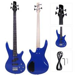 Kyпить New Blue 4 Strings Electric IB Bass Guitar на еВаy.соm