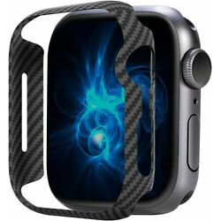 Kyпить Carbon fiber case, suitable for 40 44 Apple Watch Series 6 SE 5 4 на еВаy.соm