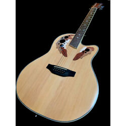Kyпить GREAT PLAYING NEW 12 STRING DELUXE ACOUSTIC ELECTRIC ROUND BACK GUITAR на еВаy.соm