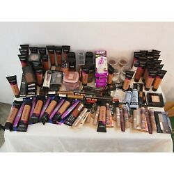 Kyпить Wholesale Mixed Makeup Lot NYX Maybelline L'Oreal Covergirl 100 + Pieces на еВаy.соm