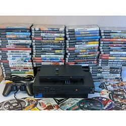 Kyпить Sony PlayStation 2 Slim or fat PS2 Console Bundle  5 Games, New Games every day на еВаy.соm