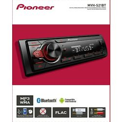 Kyпить Pioneer Bluetooth Car Stereo Receiver AM/FM Radio Audio System MP3 USB In Dash  на еВаy.соm