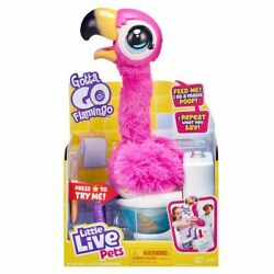 Kyпить NEW LITTLE LIVE PETS SHERBET THE GOTTA GO FLAMINGO INTERACTIVE TOY FREE SHIPPING на еВаy.соm