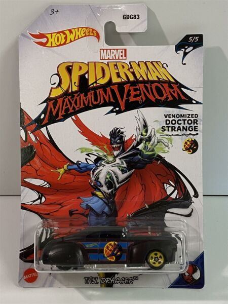 Royaume-UniSpiderman Maximum Venon Hot Wheels Queue Dragueur GJV27 1:64 Echelle