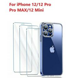Kyпить 3 Pack For iPhone 12 Pro max mini iPhone 12 Pro Tempered Glass Screen Protector на еВаy.соm