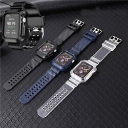 Kyпить Carbon Fiber Watch Band Case Wrist Strap For Apple Watch Series 6/5/4/3/2/1/SE на еВаy.соm