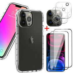 Kyпить For iPhone 12 Pro/12 Pro Max Clear Case +Screen Protector+Camera Lens Protector на еВаy.соm