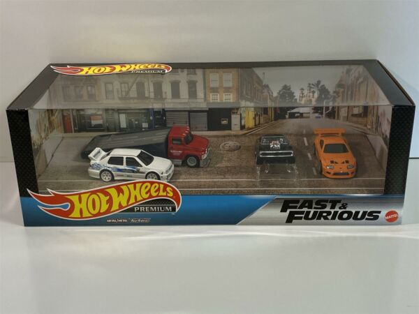 Royaume-UniFast And Furious Real Riders 4 Set Modèle Hot Wheels GMH39-956B GMH41