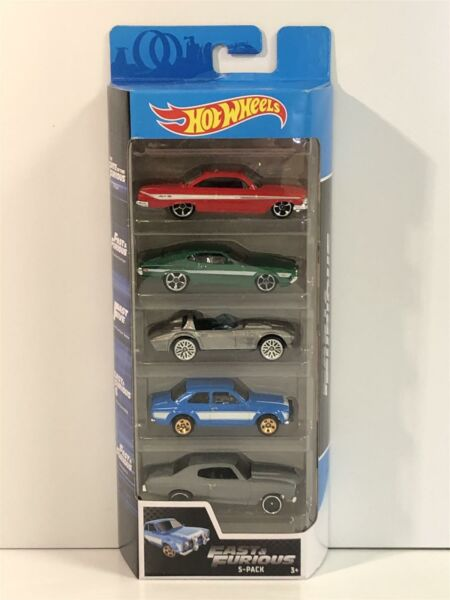 Royaume-UniFast And Furious 5 Paquet Voiture Set Hot Wheels GGH46