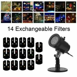 Kyпить Christmas Projector Light Moving LED Laser Landscape Outdoor Halloween Xmas Lamp на еВаy.соm