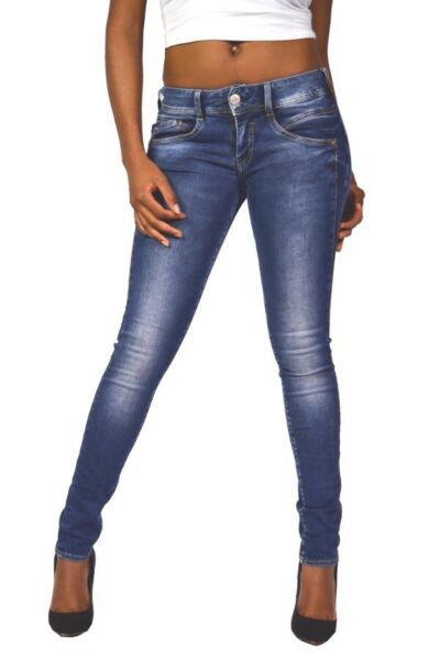 AllemagneCool Lavage À Herrlicher Jeans Gila Slim Jeans Skinny 5606 D9668 Gommage Neuf